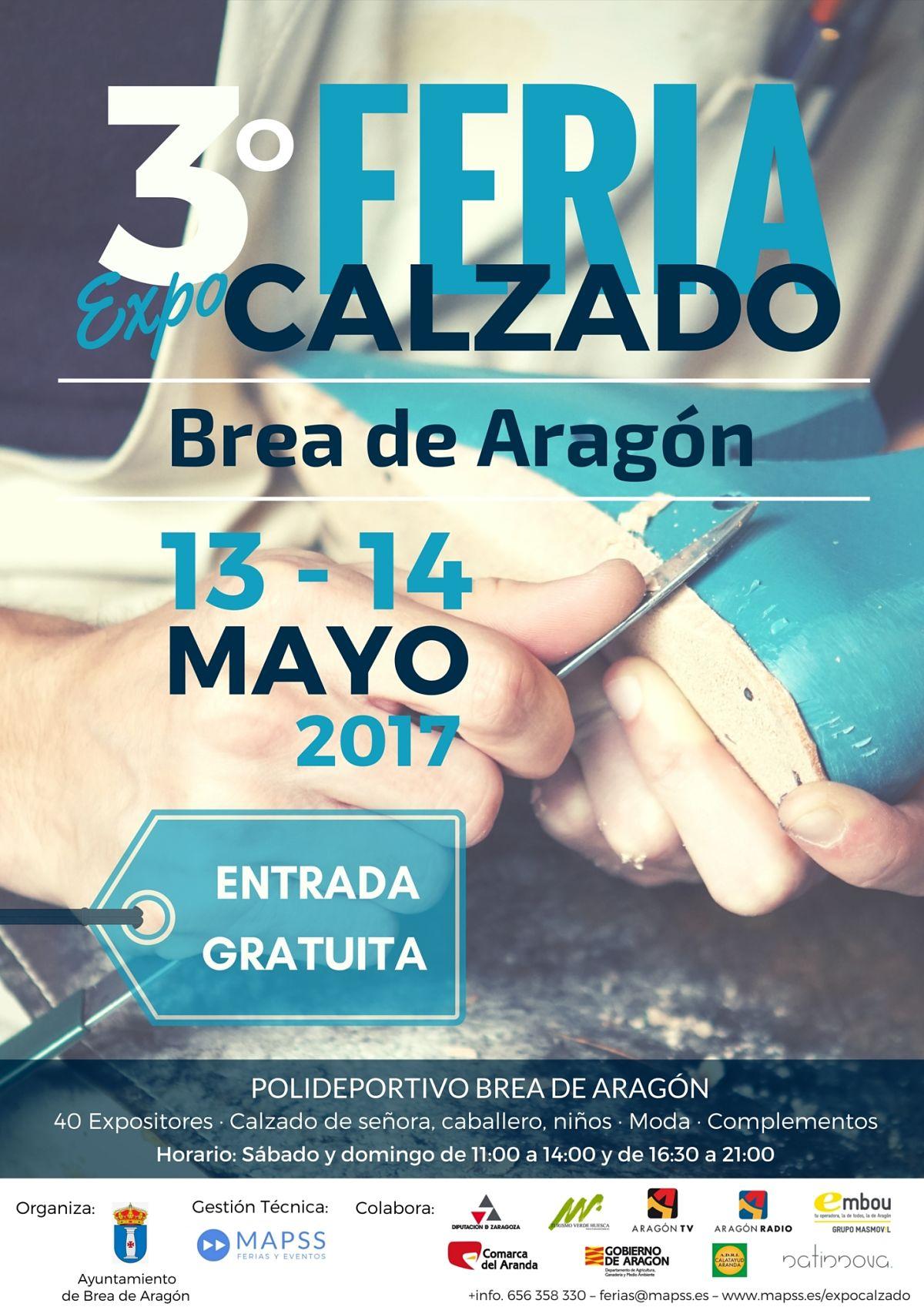 3º Feria Expo Calzado Brea de Aragón