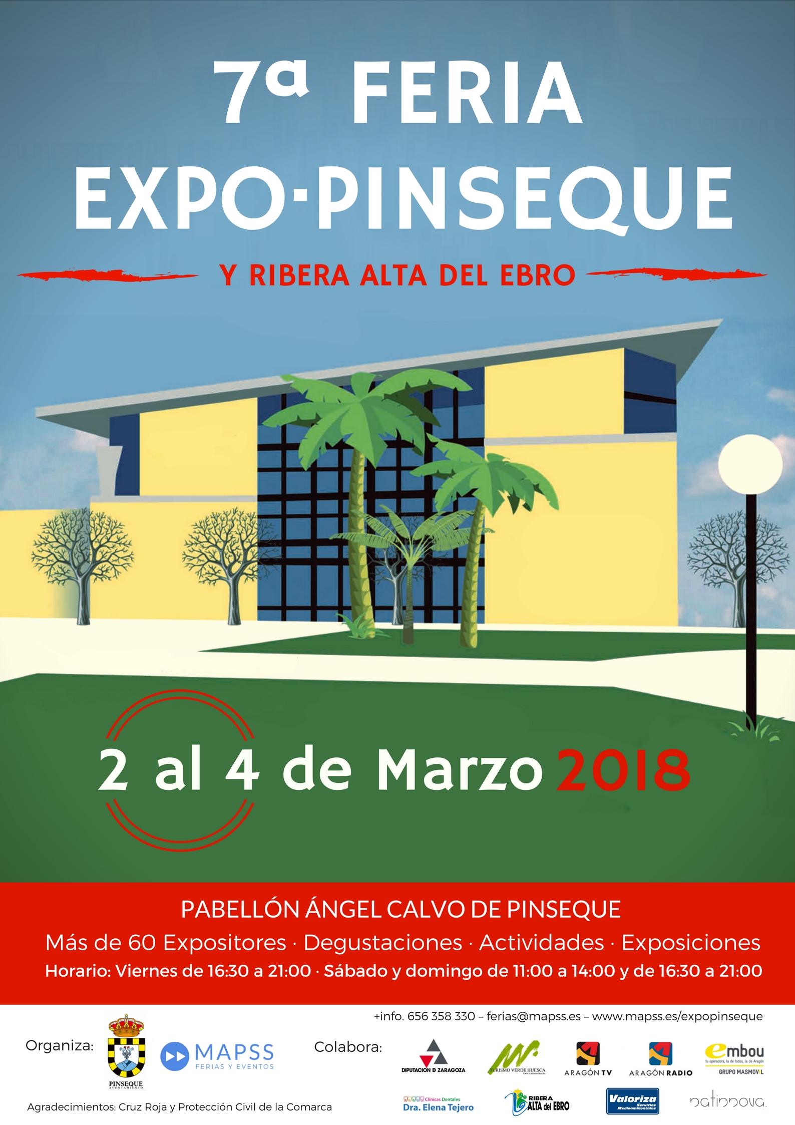 7ª Feria Expo Pinseque y Ribera Alta del Ebro