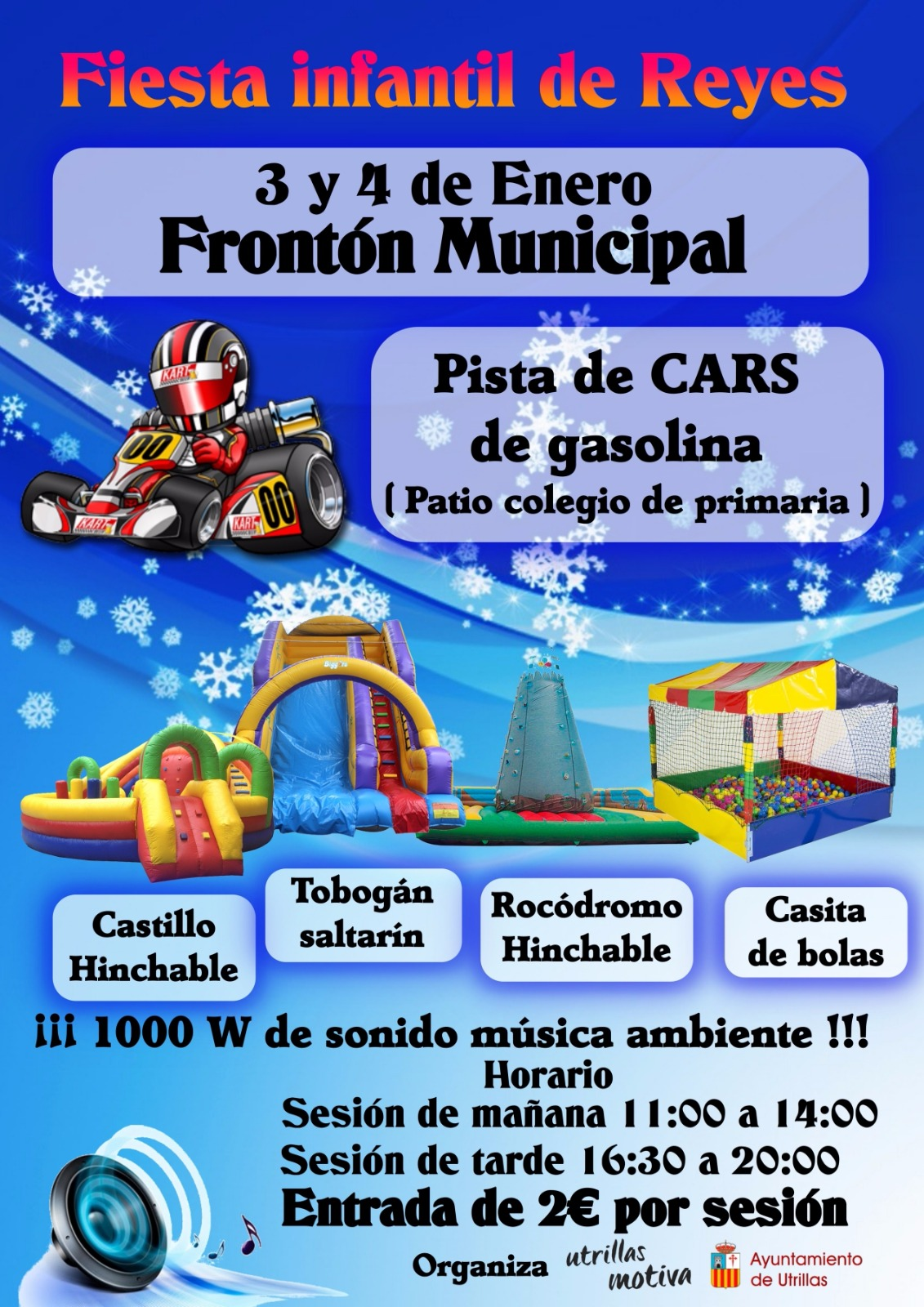 Fiesta Infantil de Reyes
