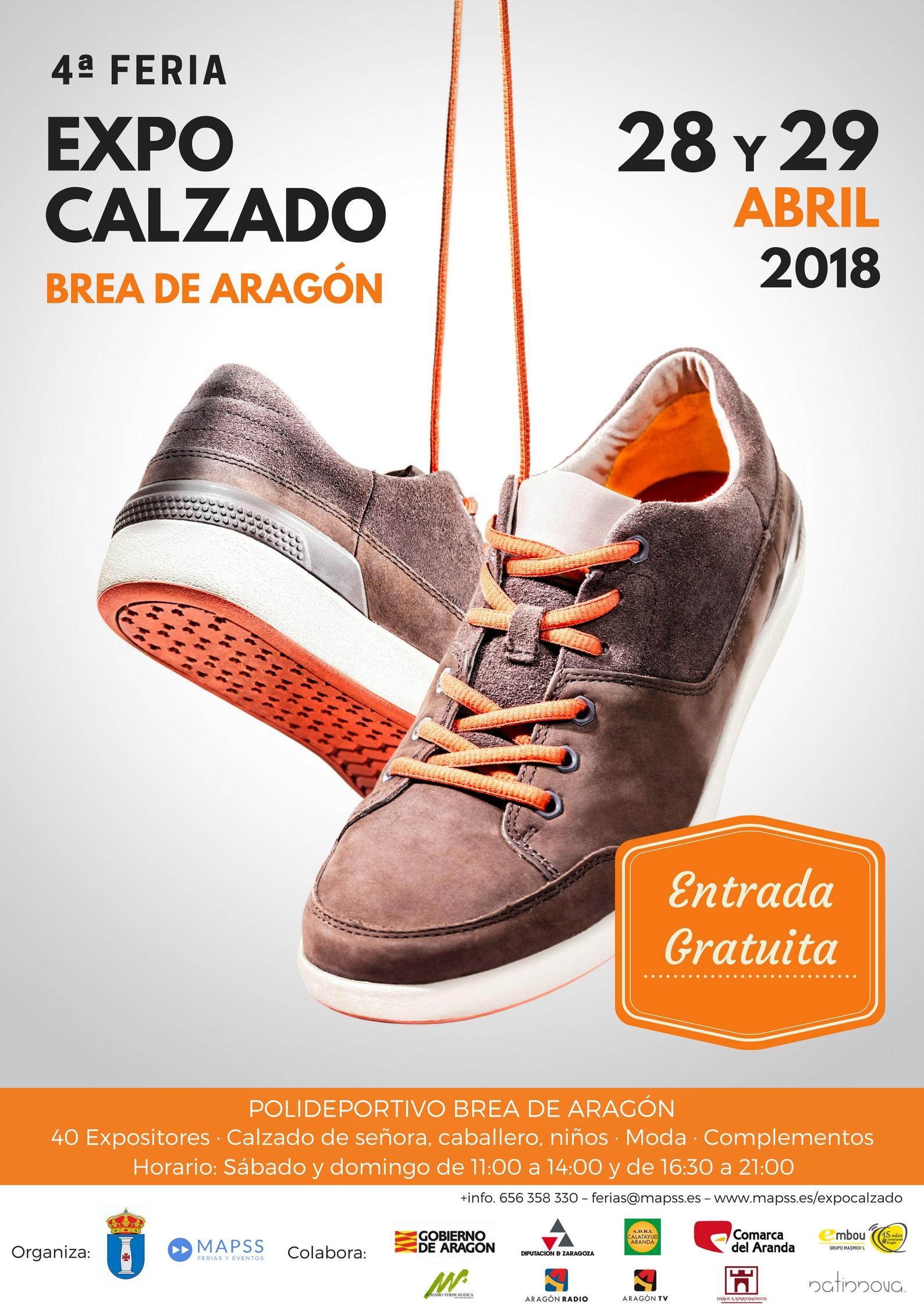 4º Feria Expo Calzado Brea de Aragón